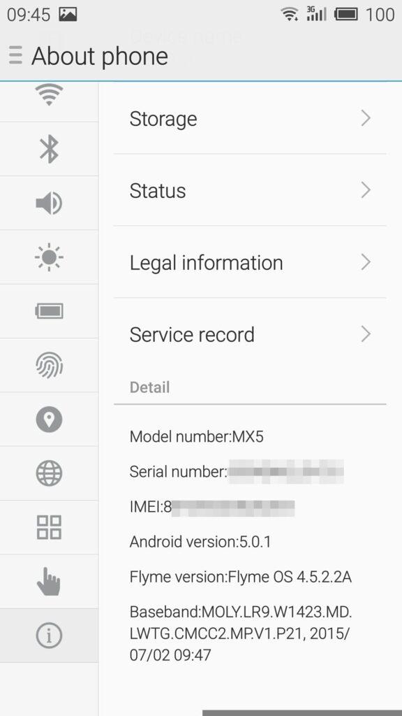 Androidは5.0.1とメモリリークで騒がれたOSを使用しています。
