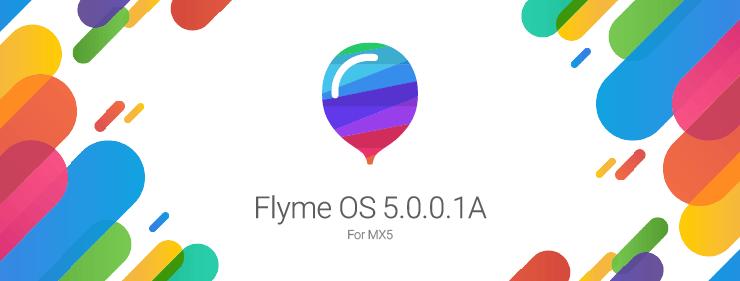 Meizu MX5用Flyme OS 5.0.0.1がリリース