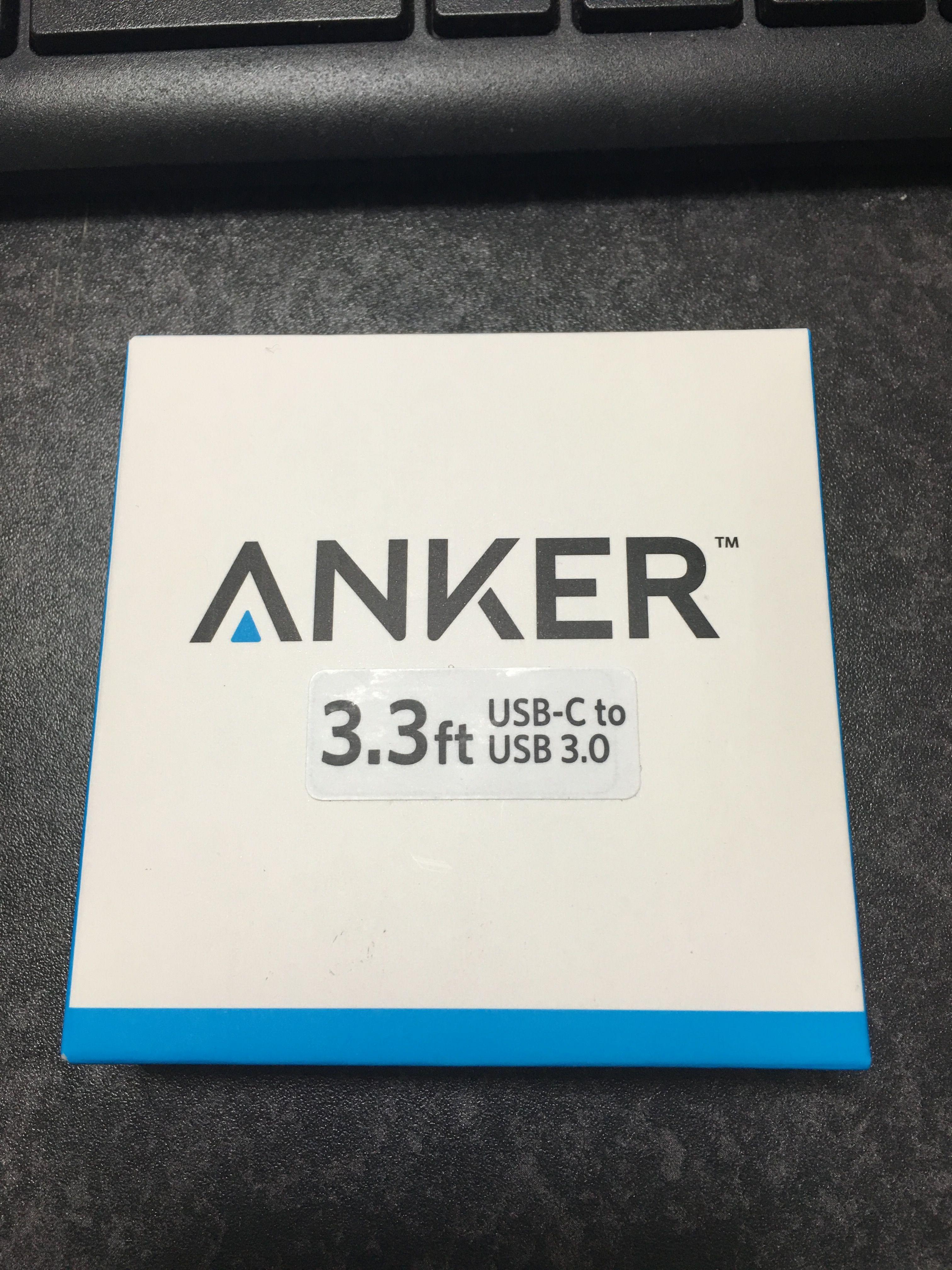 AnkerのPowerLine USB-C & USB 3.0 ケーブルを購入したので開封レビュー