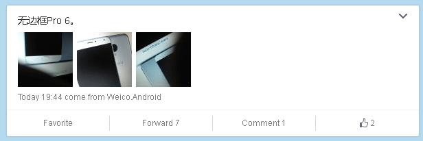 これがMeizu Pro 6?筐体下部のDラインを採用しているMeizu製スマートフォンの画像が流出