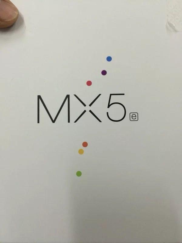 Meizu MX5の廉価版、Meizu MX5eの箱が公開。小さくeと書かれた箱に