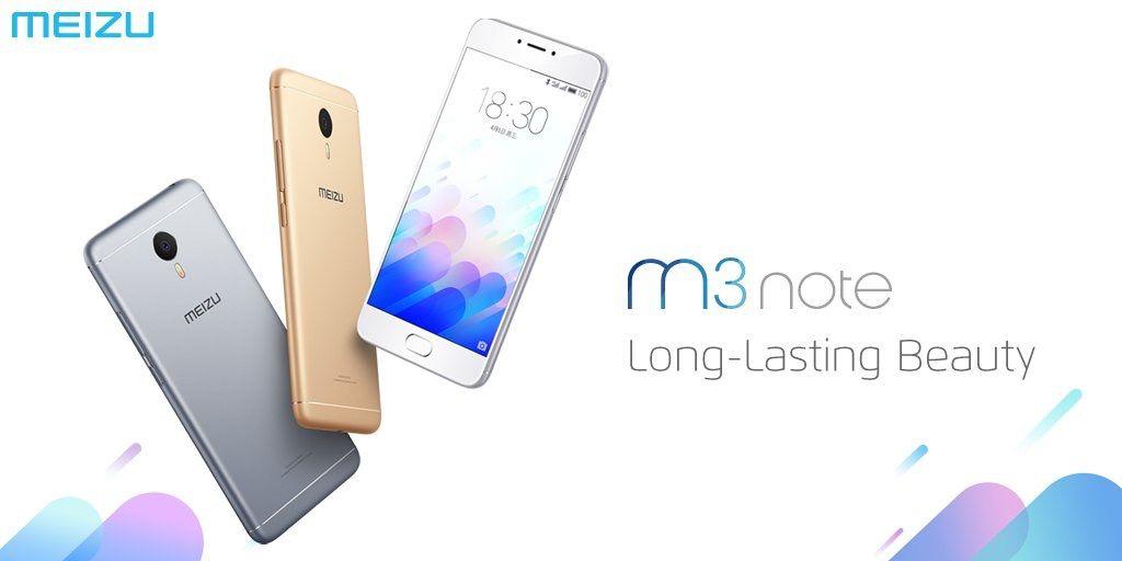 インドにてMeizu m3 noteを発表。RAM 2GB / 内蔵ストレージ 16GBモデルが9,999インドルピー