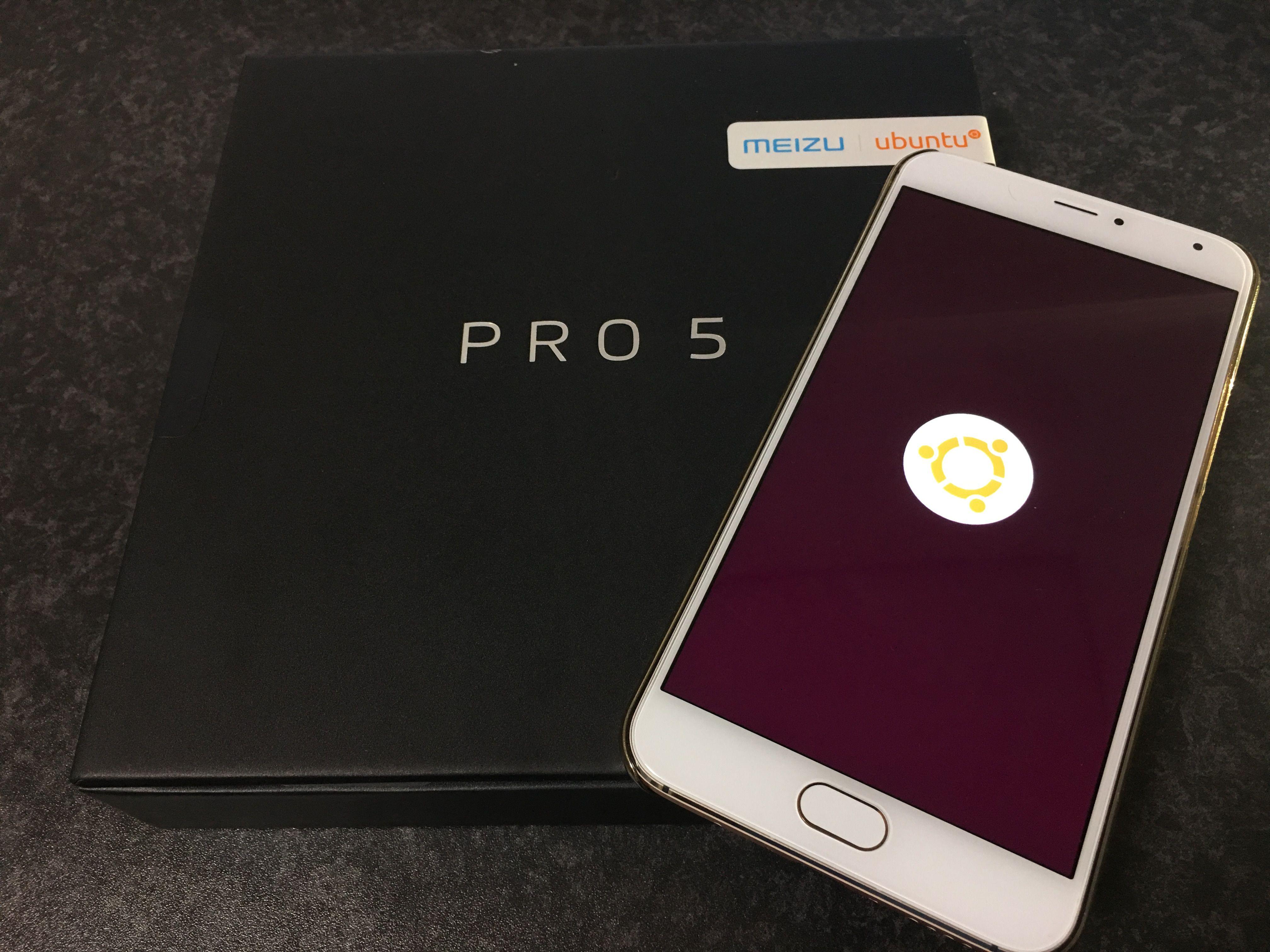 Meizu Pro 5 Ubuntu Editionが最新のNightlyビルドで指紋認証機能が利用可能に