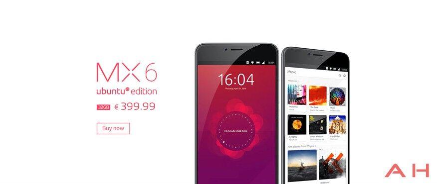 Meizu MX6 Ubuntu Editionの画像が流出。コードネームはMidoriに