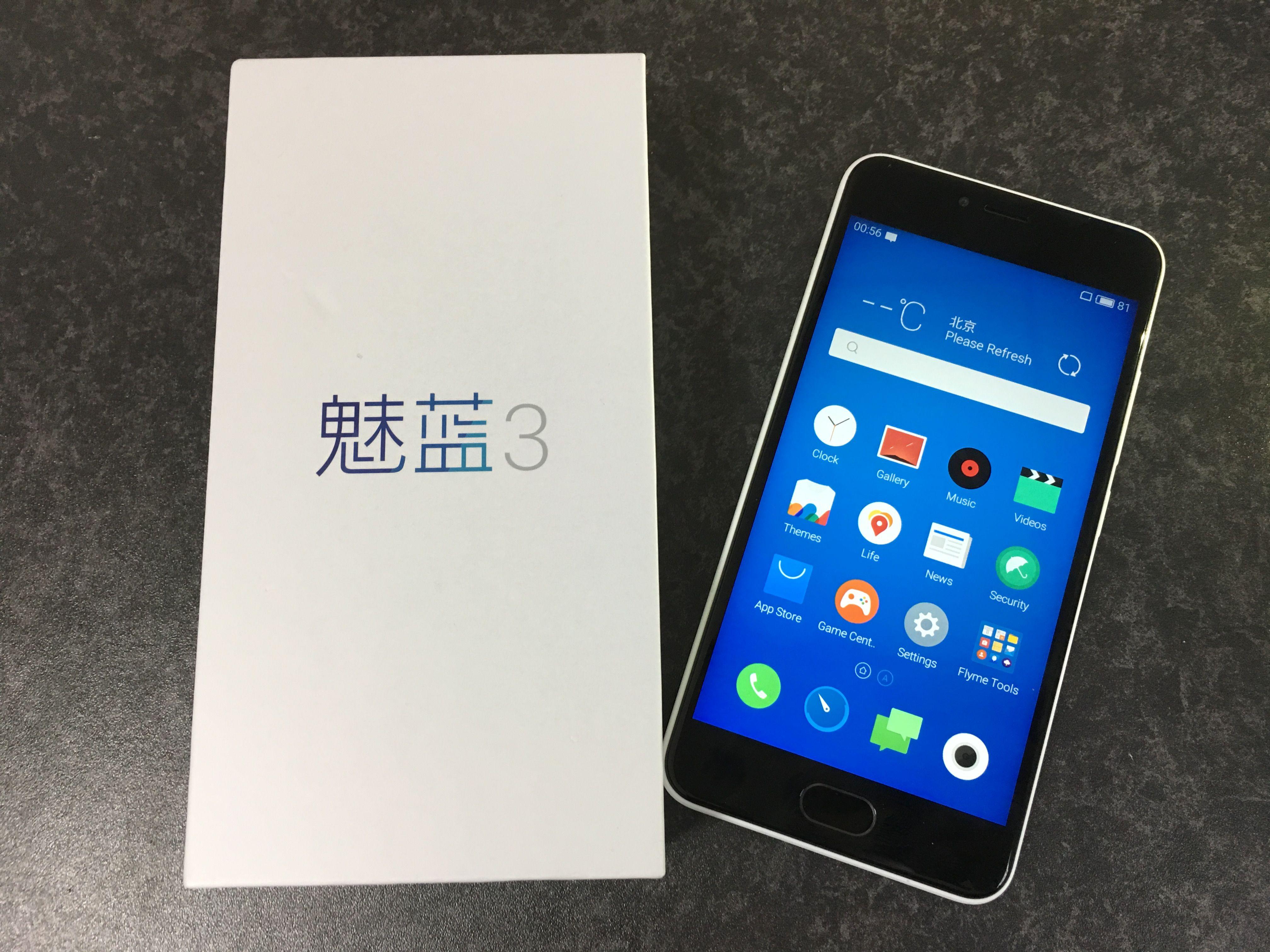 2016年度mシリーズ小型スマートフォン、Meizu m3のフォトレビュー!えっ、軽いよこれ!超軽い!