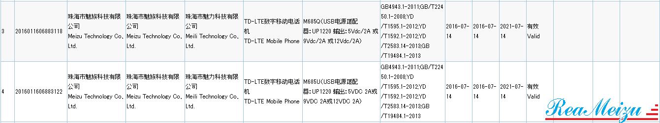 FlymeバージョンのMeizu MX6が中国質量認証センターで認証を取得