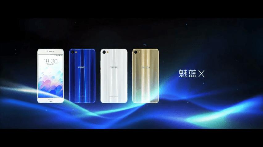 魅藍X(Meizu M3X)を発表。Helio P20(MT6757)を搭載し、価格は1699元(約28,000円)