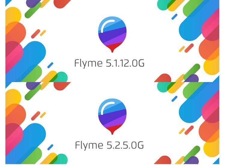 Flyme 5.1.12.0GとFlyme 5.2.5.0Gがリリース