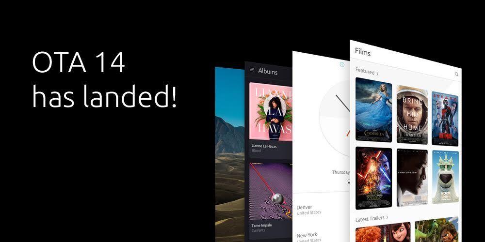 Ubuntu Touch OTA-14が配信開始。