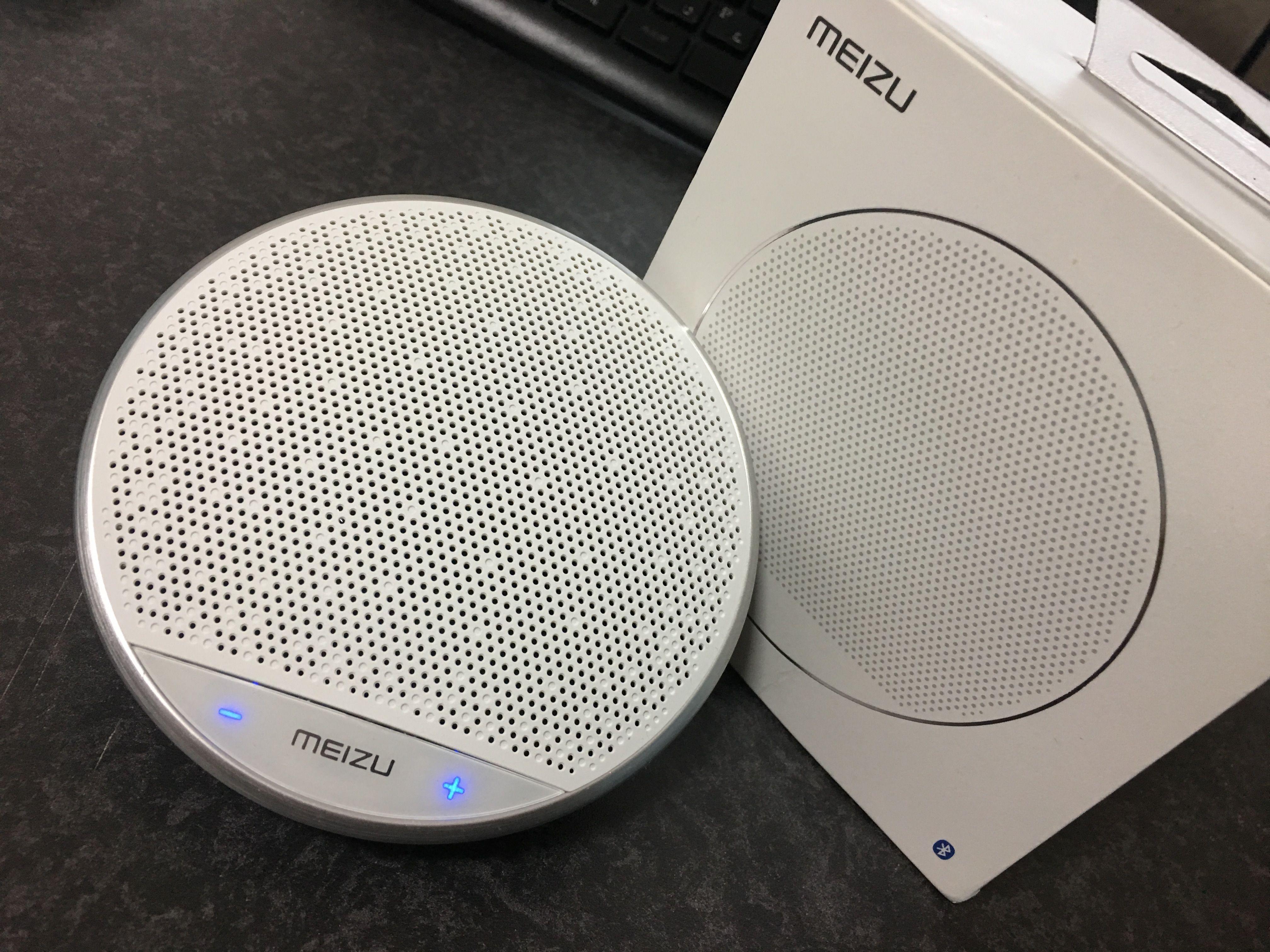MEIZU Bluetooth Portable Speaker A20のレビュー!音質もよく携帯性も完璧で非常に上質な製品!