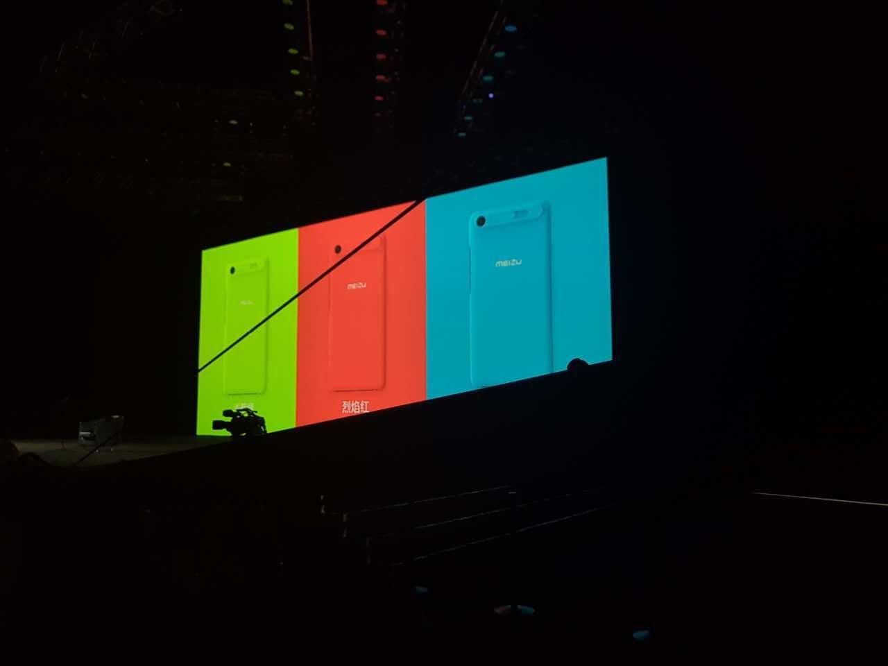 魅藍E2(Meizu M2 E)の製品発表会のリハーサル中に盗撮され、専用ケースの存在がリーク
