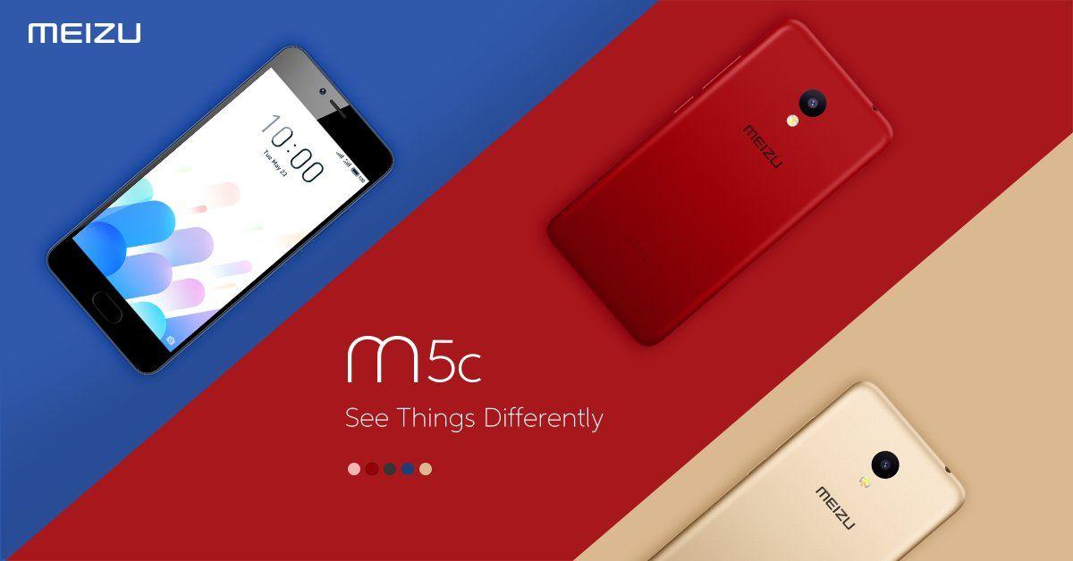グルーバル市場向けにMeizu M5cを発表。5色展開のエントリーモデル