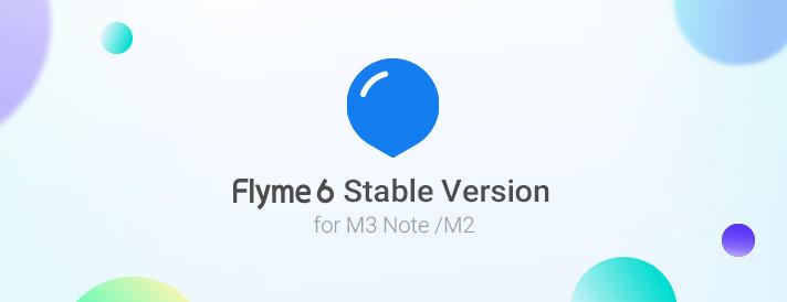 Meizu M3 Note、Meizu M2 mini用Flyme 6.1.0.0G Stableが再度リリース