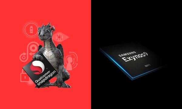 Qualcomm Snapdragon 835とSAMSUNG Exynos 9 Series(8895)を比較。全てにおいてSnapdragon 835が劣勢