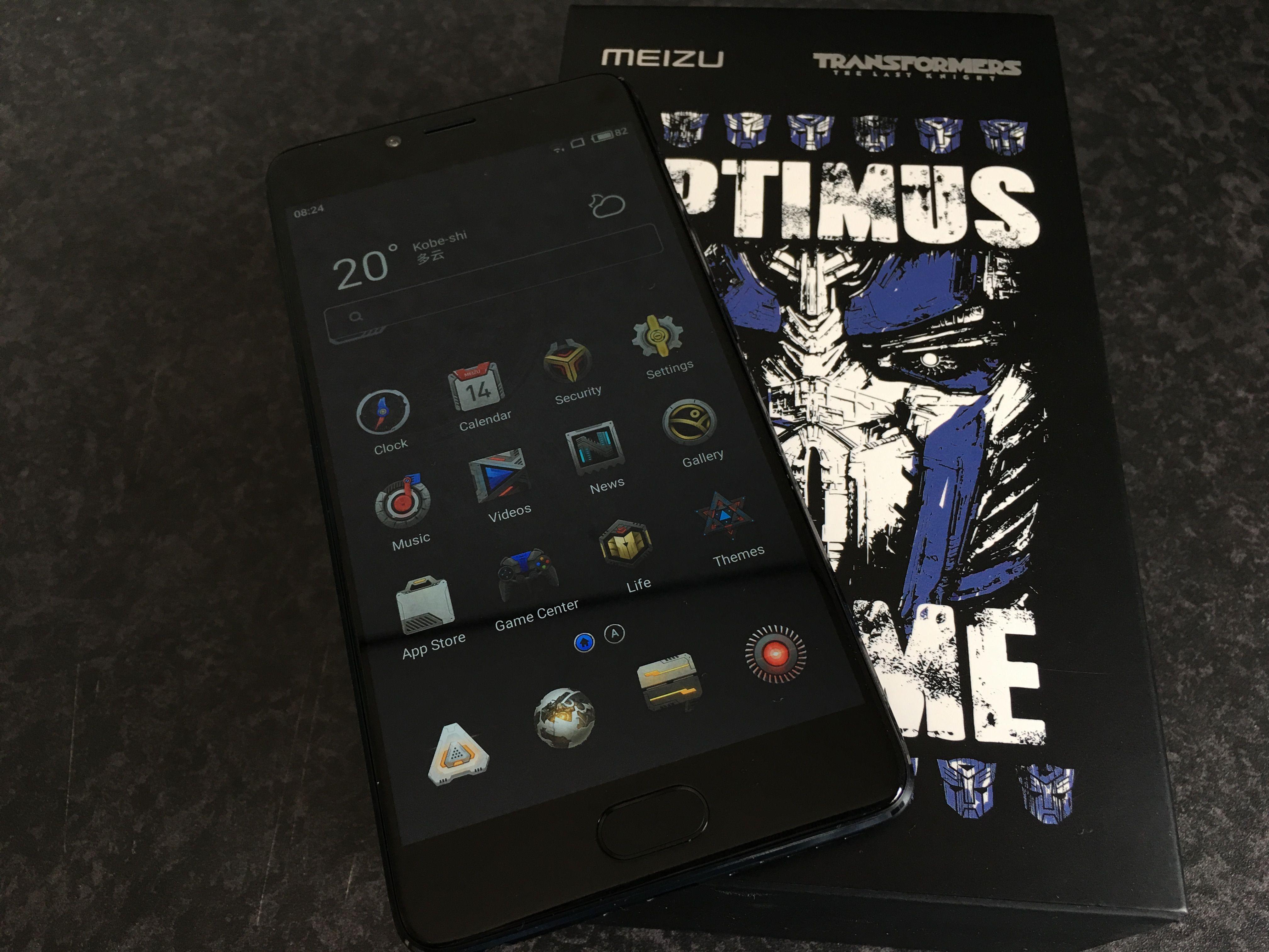 Meizu M2 E Transformers Edition(4GB/64GB)のフォトレビュー
