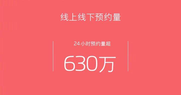 Meizu M6 Noteの事前予約台数が1日で630万台を突破