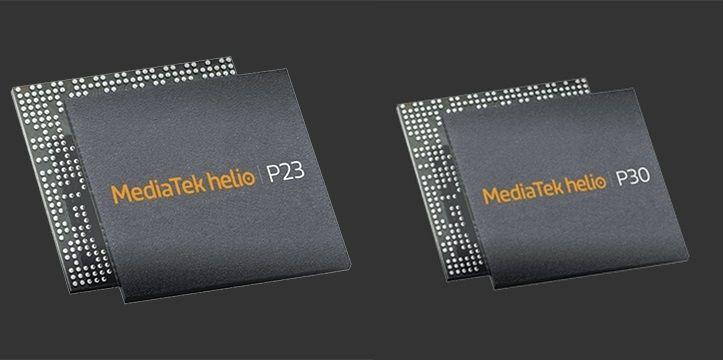 MediaTekが2017年Q4のミドルレンジ向けSoC「Helio P23」・「Helio P30」を発表