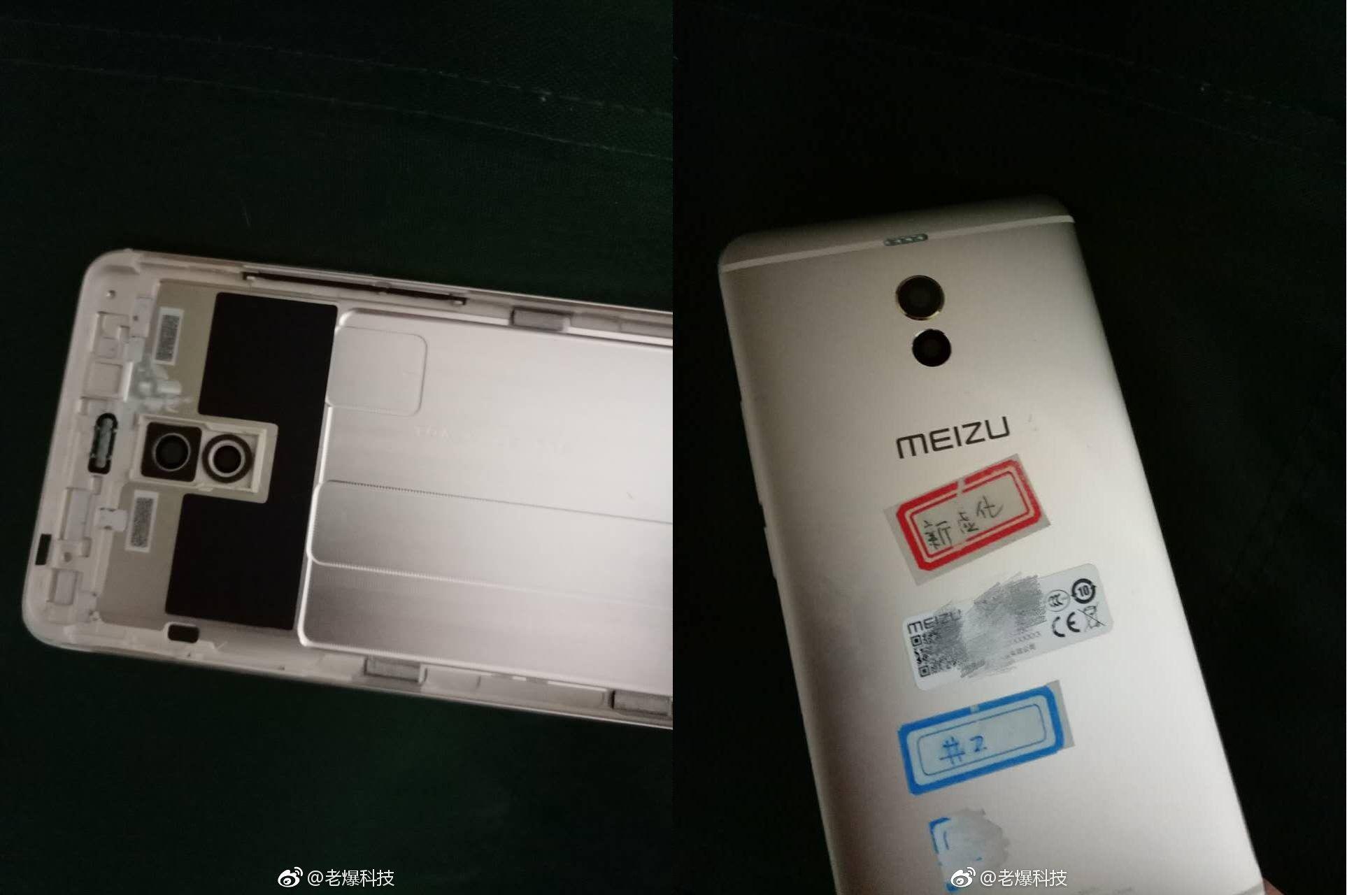 Meizu M6 Noteのバックカバーが流出。デュアルカメラ + 樹脂ライン上にLEDフラッシュの配置で確定