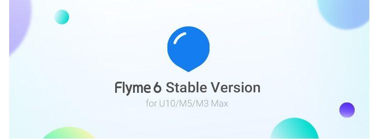 グローバル版のMeizu M5(M611H)/M3 Max(S685H)/U10(U680H)用Flyme 6.2.0.0G Stableがリリース