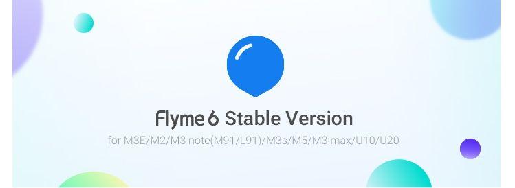 グローバル版のMeizu M3s(Y675H)/M3 Note(M681H/L681H)/M3E(A680H)用Flyme 6.2.0.0G Stableがリリース