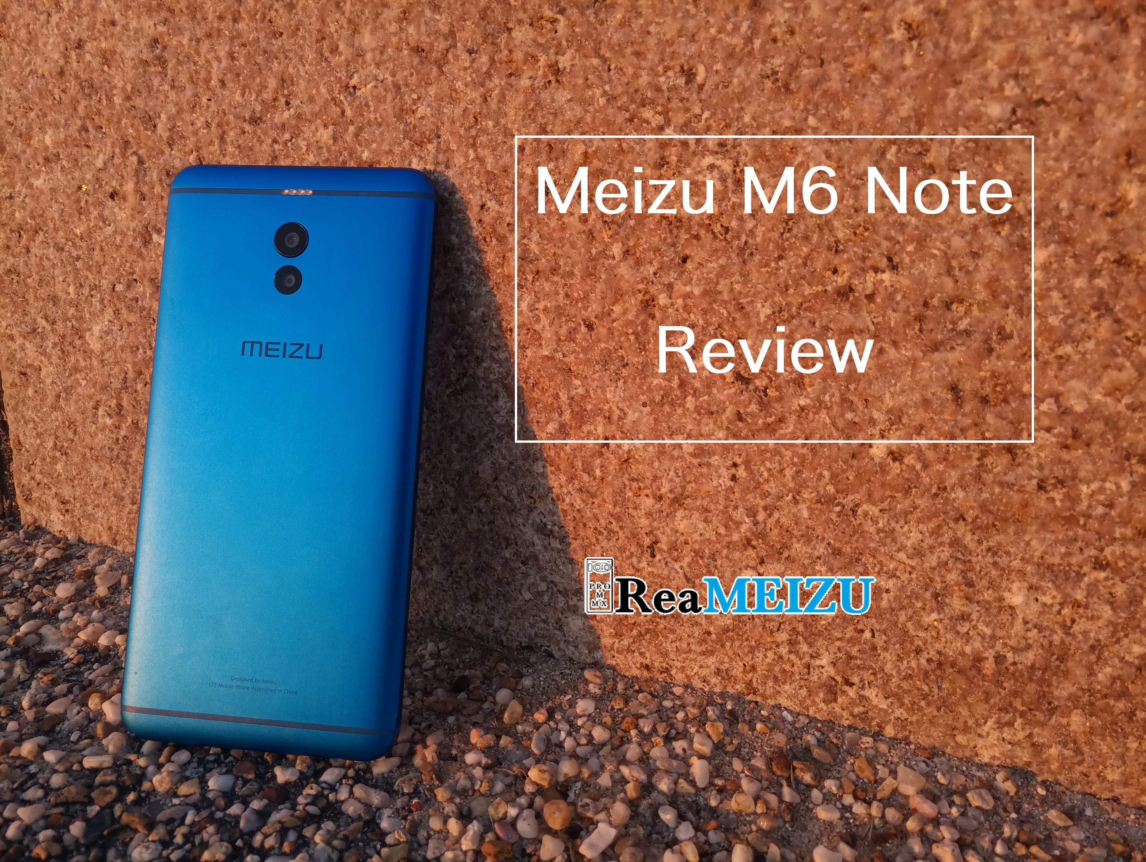 Meizu M6 Noteのフルレビュー - ミドルレンジながらカメラはトップクラス