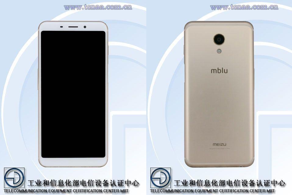 魅藍 S6(Meizu M6s)の実機画像がTENAAによって公開。背面にmbluロゴとMEIZUロゴ双方とも表示