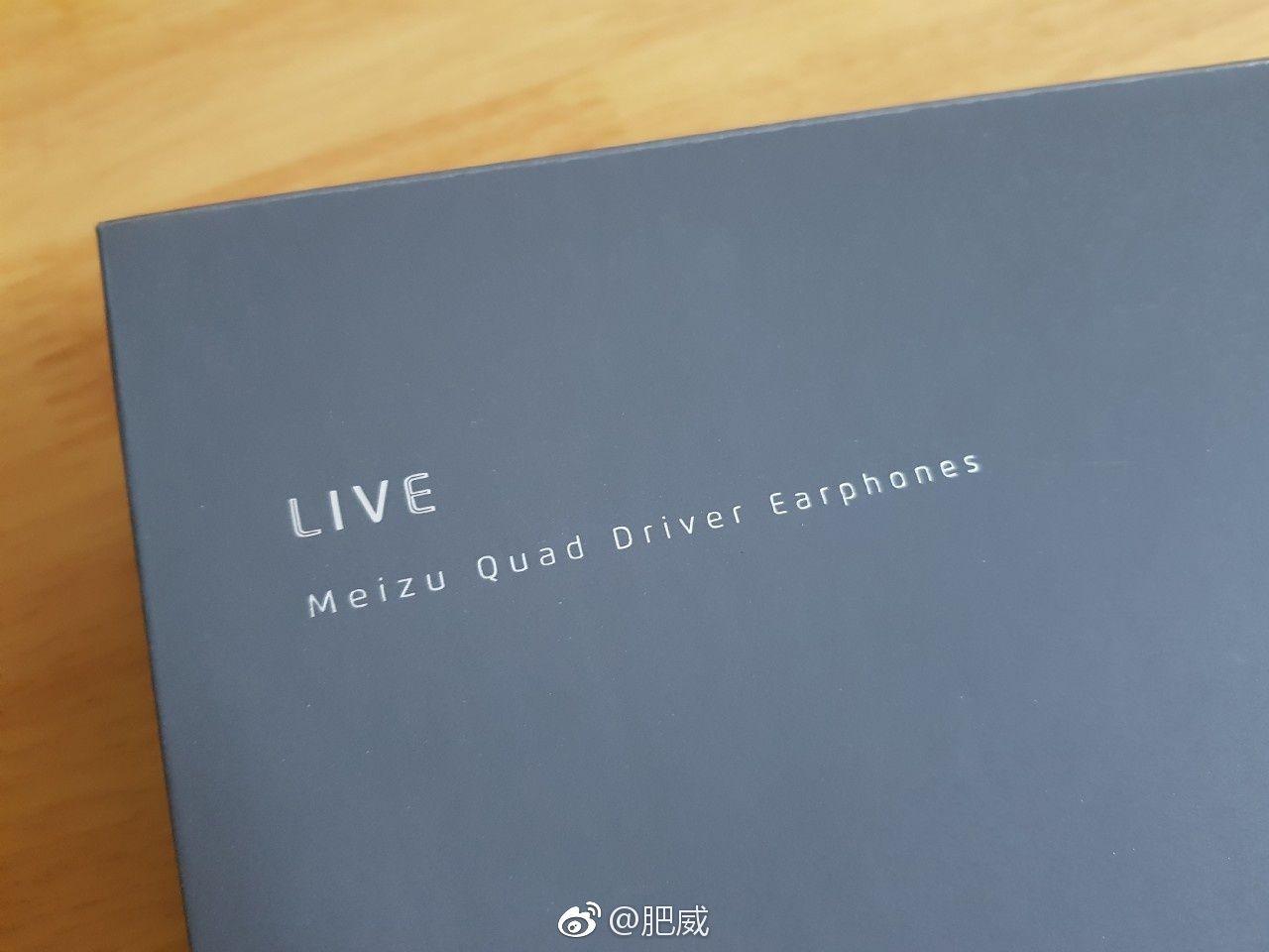 魅藍 S6(Meizu M6s)と同時に発表されるイヤホン「MEIZU LIVE」の箱、ドライバーがリーク
