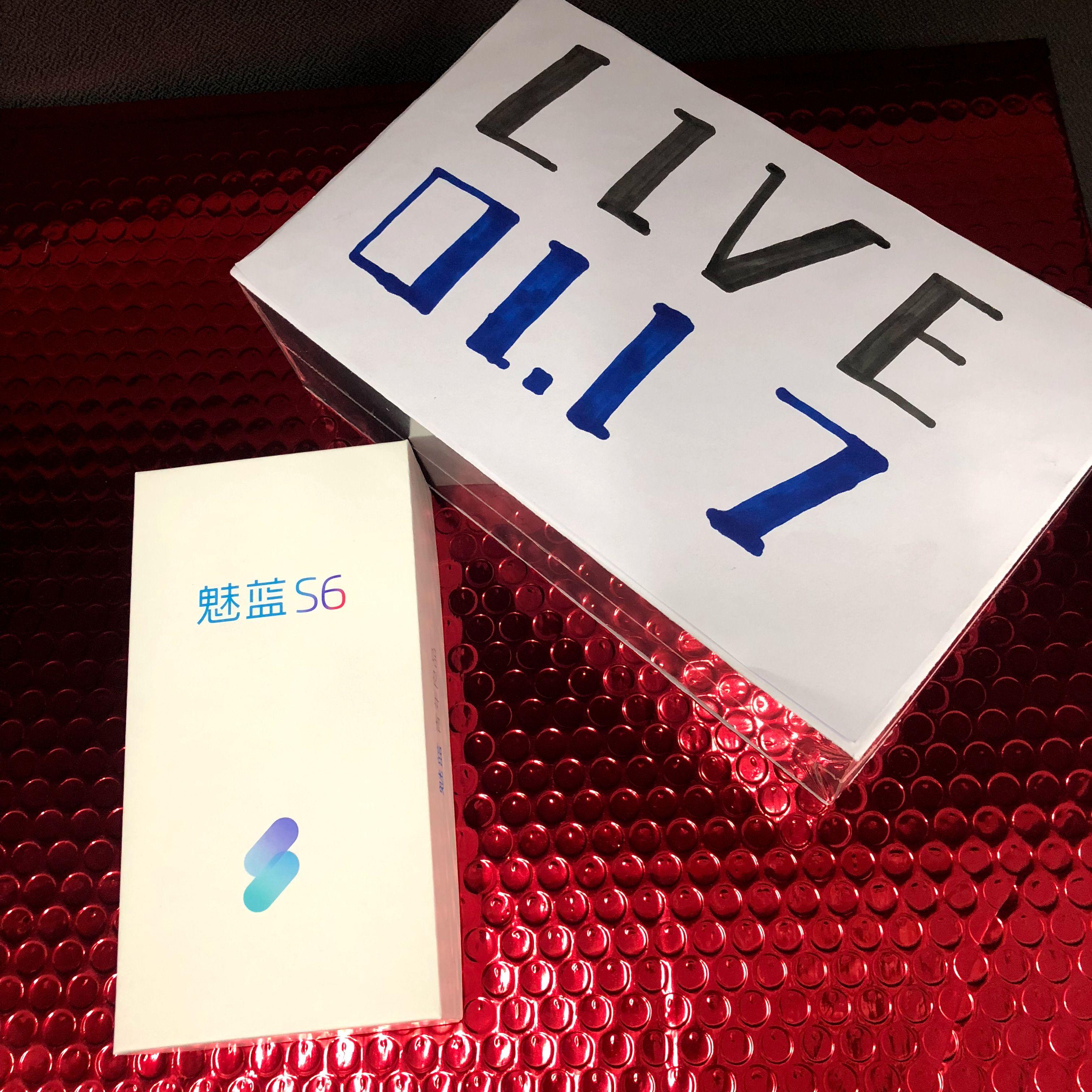 魅藍 S6(Meizu M6s)の製品箱が公開。mbluブランドの新ロゴが存在