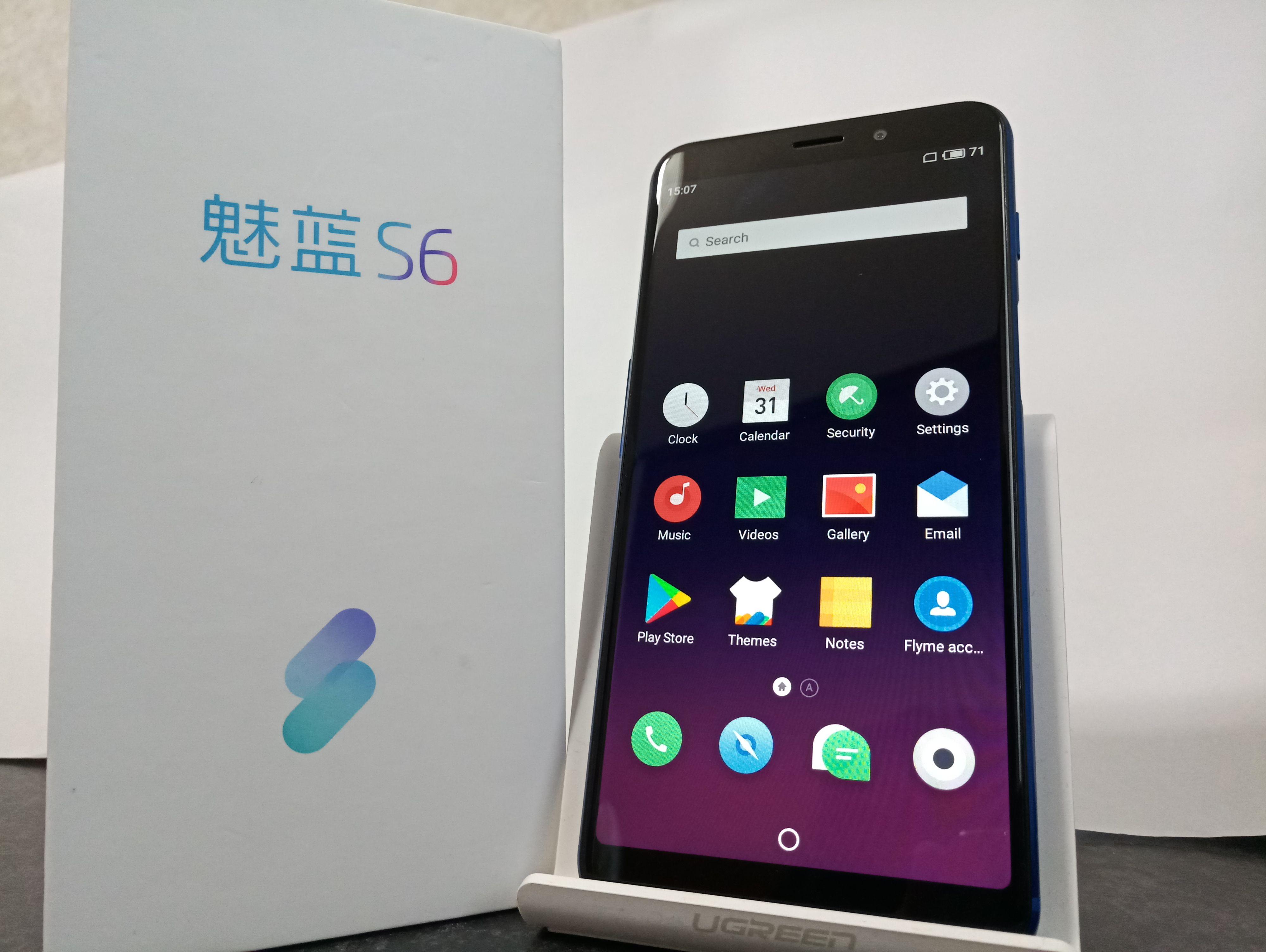 魅藍 S6(Meizu S6/Meizu M6s)のフォトレビュー