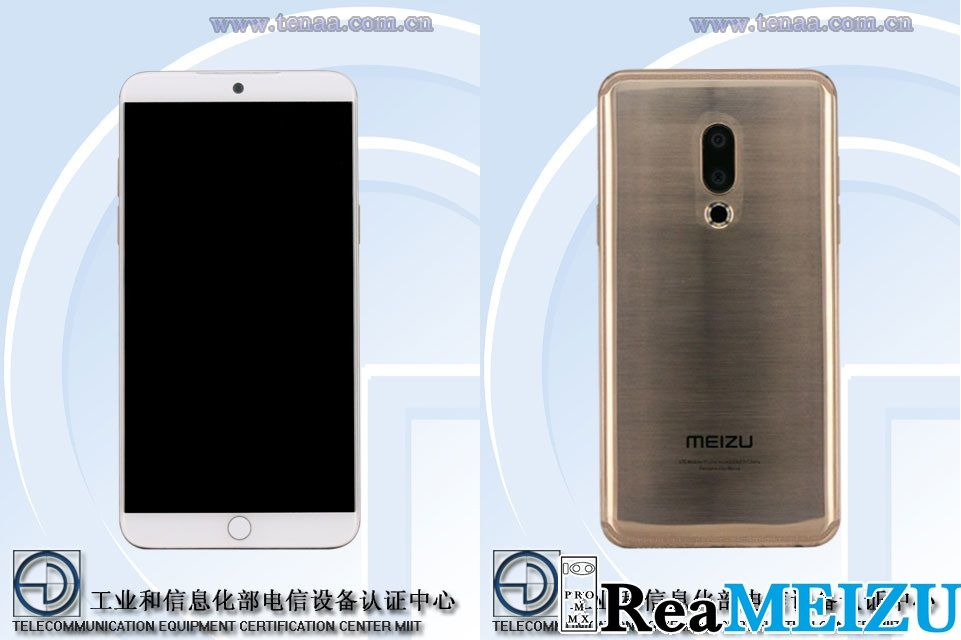 Meizu 15と思われる「M881」の筐体画像がTENAAによって公開