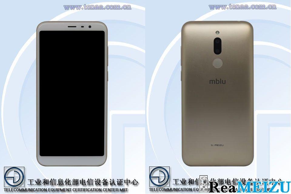 魅藍7(Meizu M7)と思われる筐体イメージがTENAAによって公開。背面に指紋認証センサーを配置