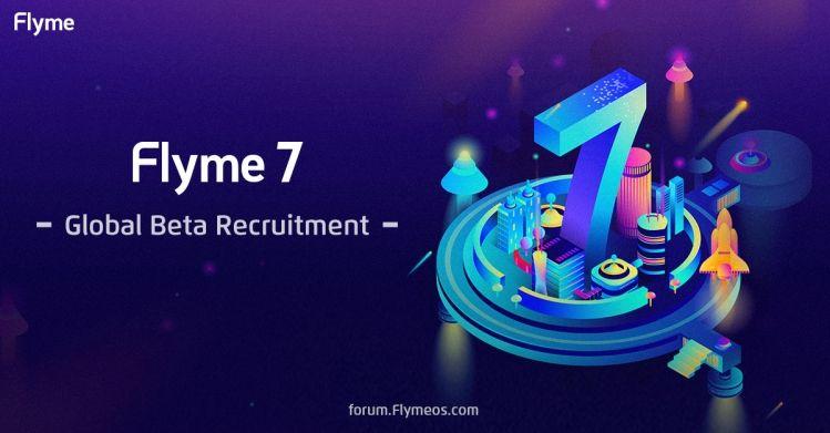 Flyme 7のGlobal Betaの募集を開始。対象端末はMeizu PRO 7 Plus/PRO 7-S/MX6/M5 Noteの4機種