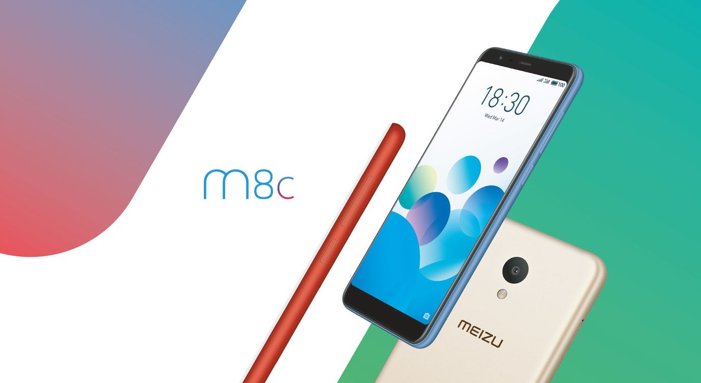 Meizu M8cを発表。Qualcomm Snapdragon 425を搭載したエントリーモデル