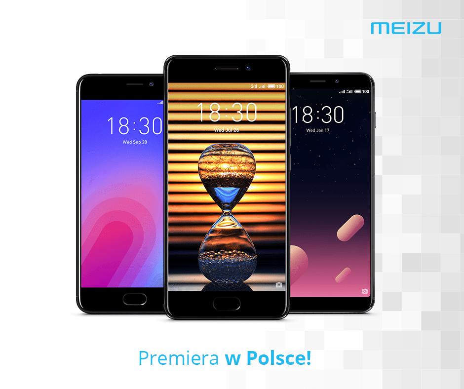 ポーランドでMeizu PRO 7-S/M6s/M6を発表