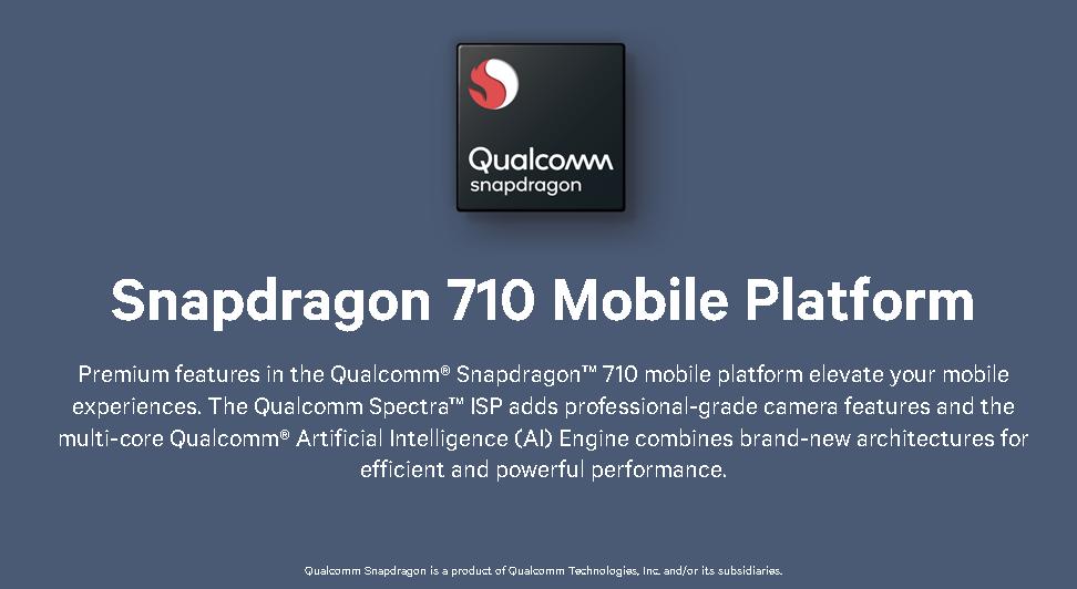 Qualcomm Snapdragon 710 Mobile Platformを正式発表。10nm FinFET LPP、2+6のオクタコア構成