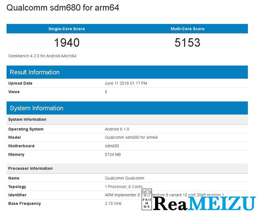 ヘキサコアのQualcomm Snapdragon 680がGeekbenchに登場