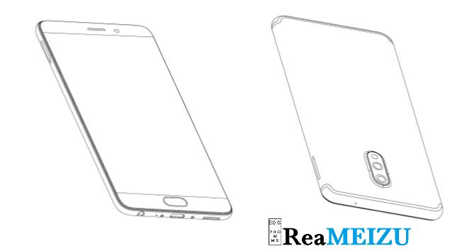 新たなスマートフォンのデザインの特許を取得。Meizu X8は16:9のディスプレイか