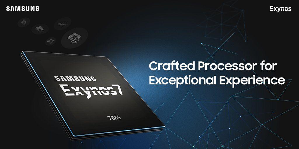 SAMSUNG Exynos 7885を様々なSoCと比較