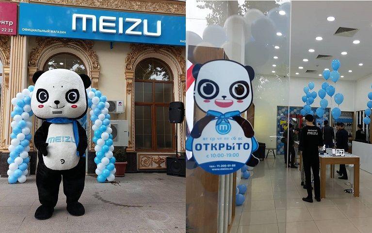 ウズベキスタンのタシュケントに最初となるMEIZUのオフラインストアを開店。