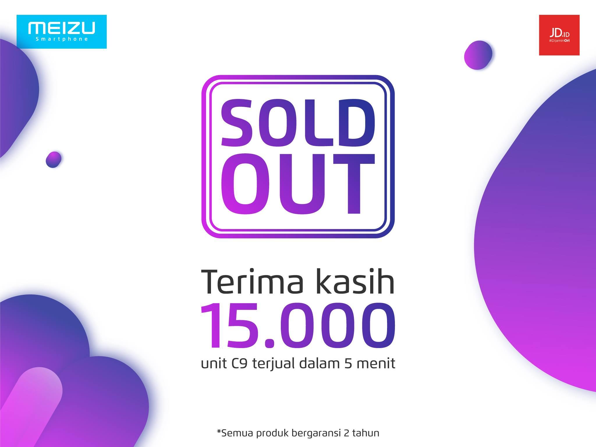 インドネシアで販売開始となったMeizu C9が5分で15,000台を販売