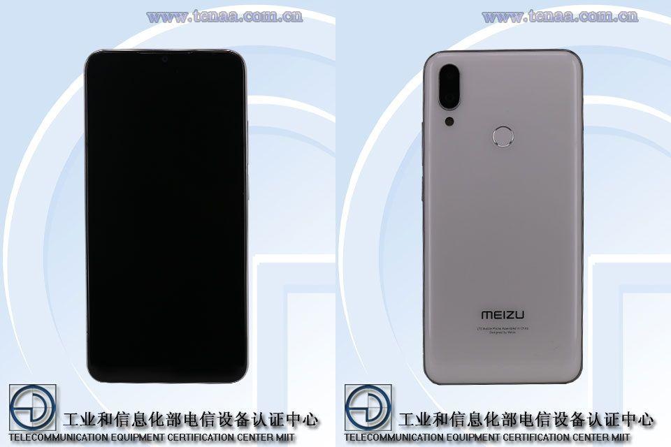 Meizu Note9とみられる未発表型番M923Qの製品画像がTENAAによって公開