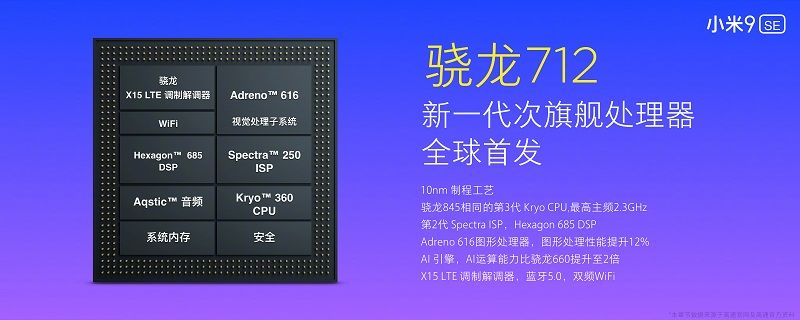 Qualcomm Snapdragon 712のGPUクロック数が判明。Snapdragon 710から上昇