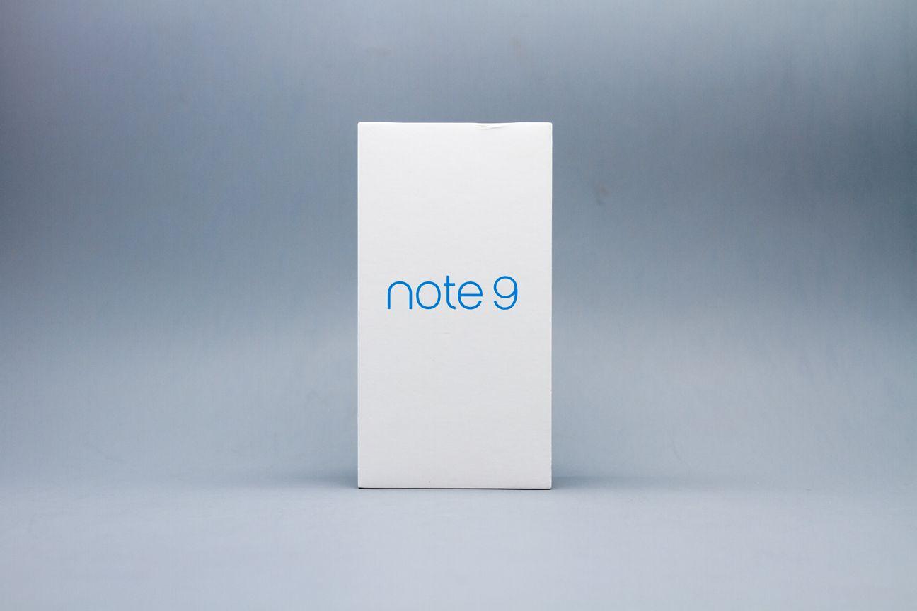 Meizu Note9の製品箱からmBluの表記が削除