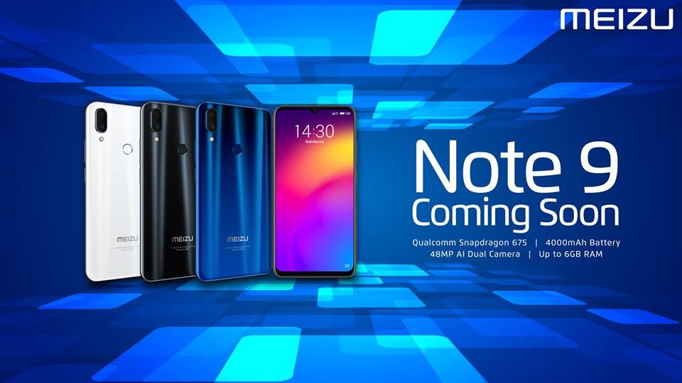 ミャンマー市場とカンボジア市場向けにMeizu Note9を発表予定