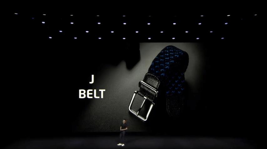 CEOがデザインを行ったJ-BELTを発表