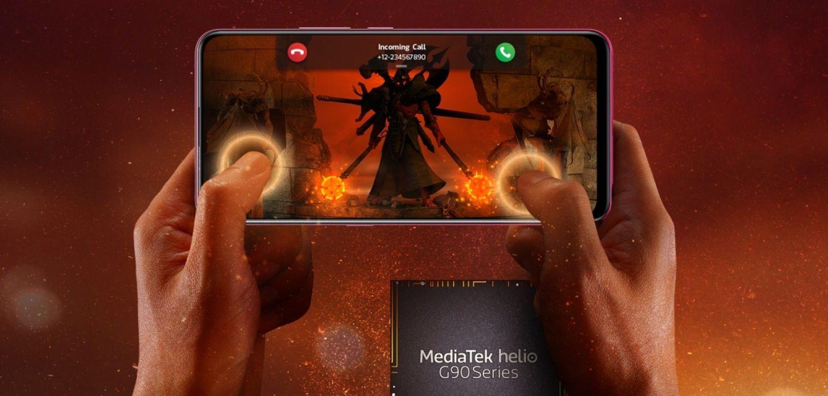MediaTek Helio G90、Helio G90Tを発表。高性能なCPUやGPUを搭載したゲーミングに重きをおいたプロセッサー