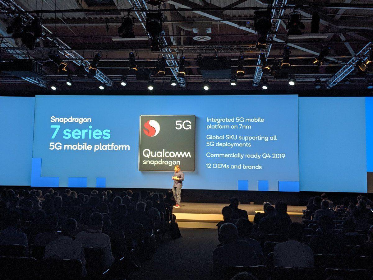 QualcommがSnapdragon 7シリーズ、Snapdragon 6シリーズに5G通信対応を拡大と発表