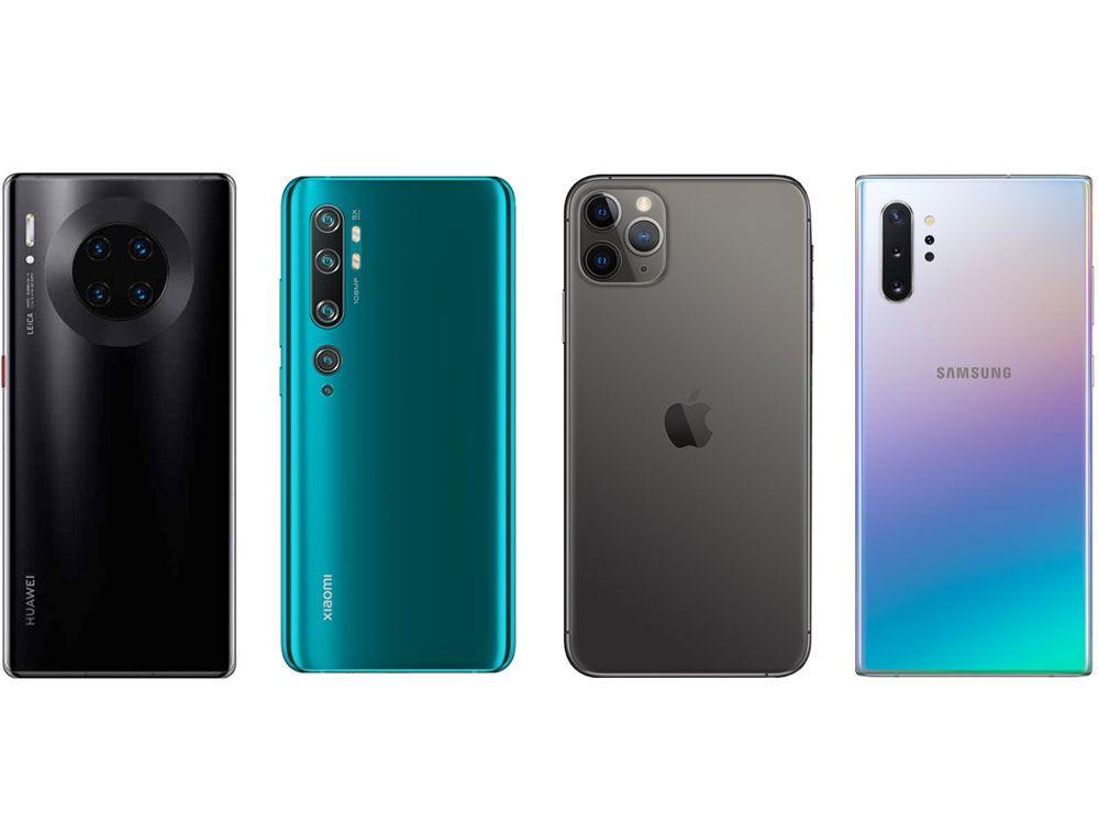 DxOMarkがThe best smartphone cameras of 2019を公開
