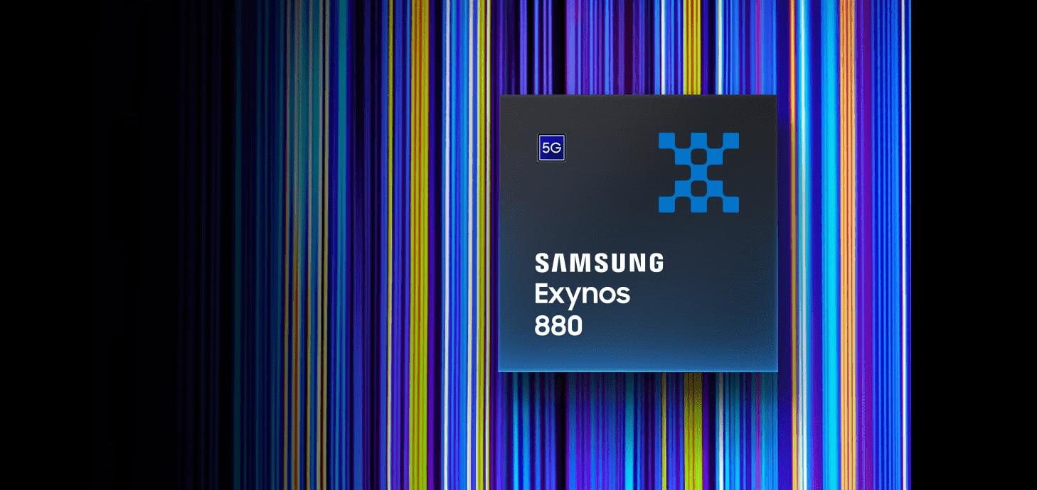 Samsung Exynos 880を発表、5G通信に対応したミドルレンジ帯向けプロセッサー