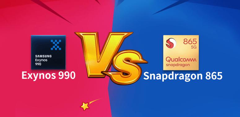 AnTuTuがGalaxy S20+におけるSnapdragon 865 5GとExynos 990の性能比較を公開